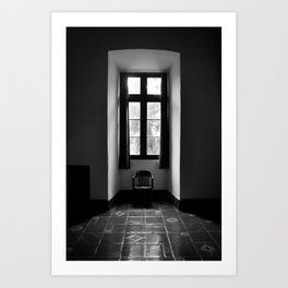 In Shadow Art Print