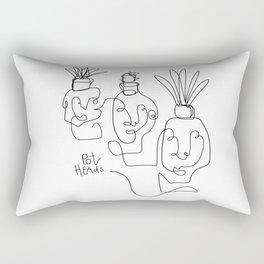 """""""Pot Heads"""" Rectangular Pillow"""