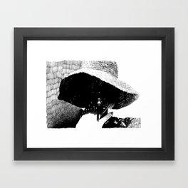 The Smoke Framed Art Print