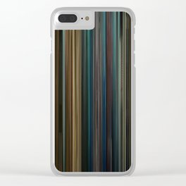 Blade Runner Movie Barcode Clear iPhone Case