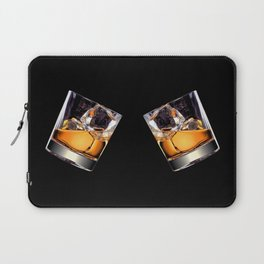 Whisky on the Rocks Laptop Sleeve