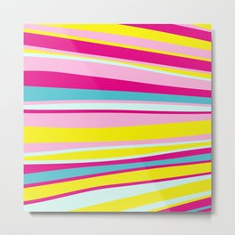 abstract stripes Metal Print