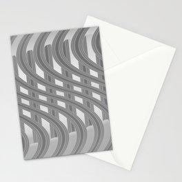 Crazy greylines 3 Stationery Cards