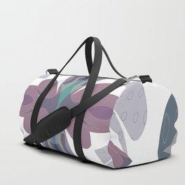 Mauve Decorative Ornament Design Duffle Bag