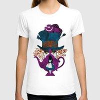 alice in wonderland T-shirts featuring Wonderland by Vitalitee