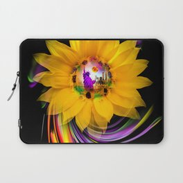 New York NYC - Statue of Liberty - sunrise Laptop Sleeve