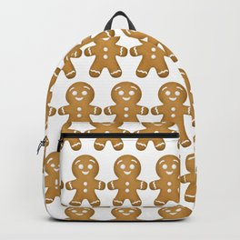 Gingerbread Cookies Pattern Backpack