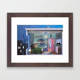 Rooms (left) Framed Art Print