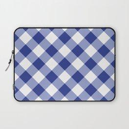 Gingham - Navy Laptop Sleeve