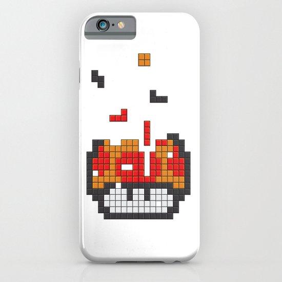 Super Mario Mushroom Tetris iPhone & iPod Case