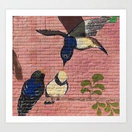 Concrete Oasis VI Art Print