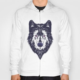 Blue wolf Hoody