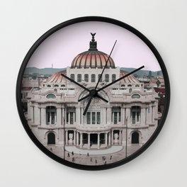 Mexico City Travel Artwork Wall Clock
