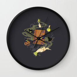 Booooook! (It's Just a Bunch of Hocus Pocus) Wall Clock