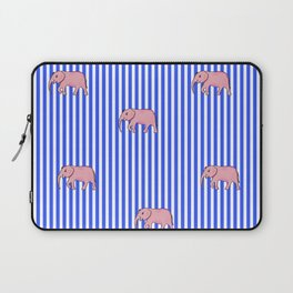 strip and elephants (https://society6.com/vickonskey/collection) Laptop Sleeve
