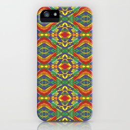 Stain Glass Tile iPhone Case