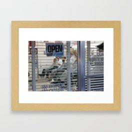 Barbershop Tradition Framed Art Print