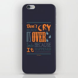 Dr. Seuss Quote  iPhone Skin