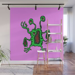 Are you ill? Check your Germs! Screamz Wall Mural