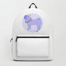 Shar Pei Pastel Illustration Backpack