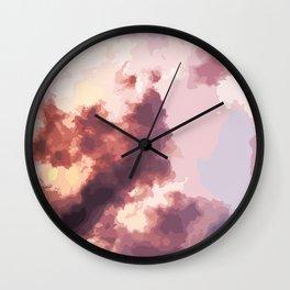 Mood Clouds Wall Clock