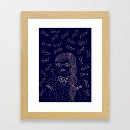 You and I make a fine 'SPECTACLE'. Framed Art Print