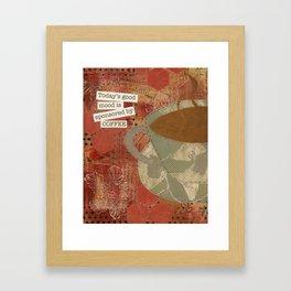 Good Mood Framed Art Print