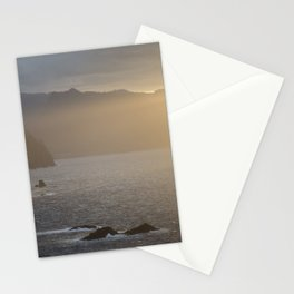 Sunset at Madeira Stationery Cards
