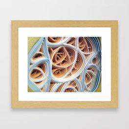 Diddle Daddlation (detail) Framed Art Print