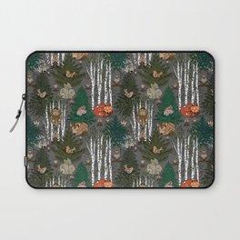 Sleepy Scandinavian Forest Laptop Sleeve