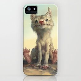 The Coyote Child iPhone Case