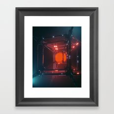 RAGE (everyday 02.02.17) Framed Art Print