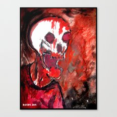 Bloody Zombie Canvas Print