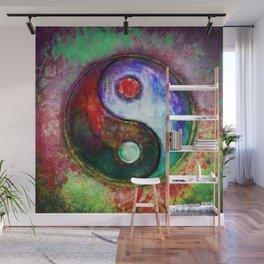 Yin Yang - Colorful Painting III Wall Mural