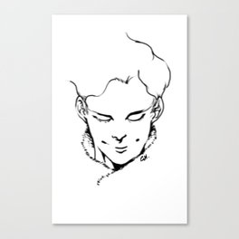 BLOW MY MIND. Canvas Print