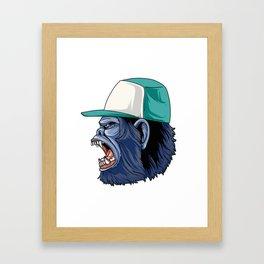 Gorilla Swag Framed Art Print