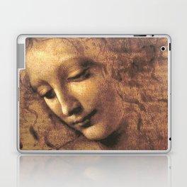 Head of a Woman - Leonardo Da Vinci Laptop & iPad Skin