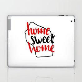 Home Sweet Home Wisconsin Laptop & iPad Skin