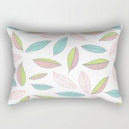 Bright Falling Leaves Rectangular Pillow