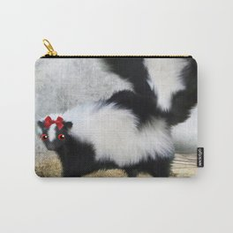 Ms. Skunk on her Own Carry-All Pouch