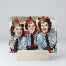 The Andrews Sisters Mini Art Print