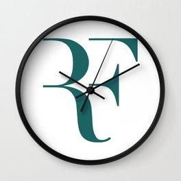 Roger Federer Logo Wall Clock