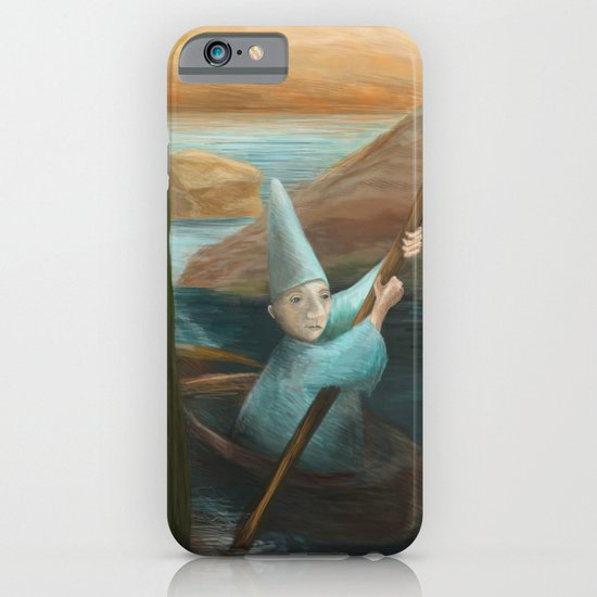 In his Boat iPhone & iPod Case
