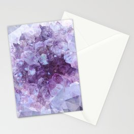 Crystal Gemstone Stationery Cards