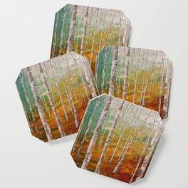 Birch Tree Forest Coaster