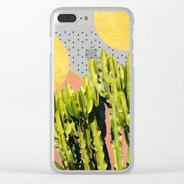 Cactus Dream #society6 #decor #buyart Clear iPhone Case