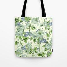 soft floral Tote Bag