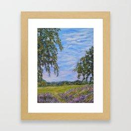Moments In Time, Impressionism Landscape Framed Art Print