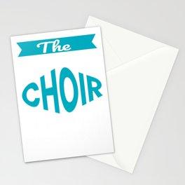 The Legendary choir Teacher Retirement Gift Design Stationery Cards