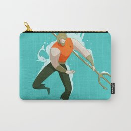 With the fishes Carry-All Pouch